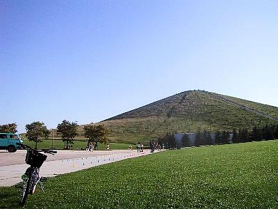 モエレ沼公園|モエレ山|写真