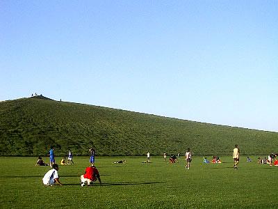 モエレ沼公園|芝生広場|写真