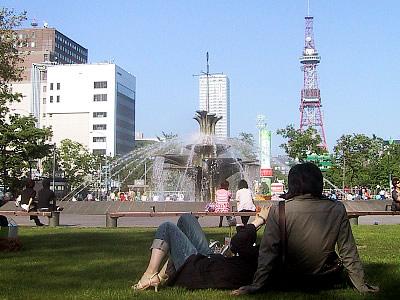 札幌 大通公園 写真