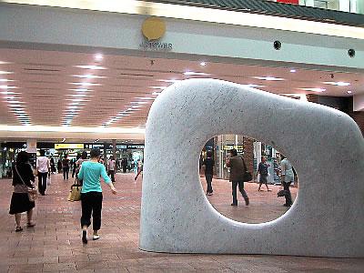札幌駅|妙夢|安田侃|写真