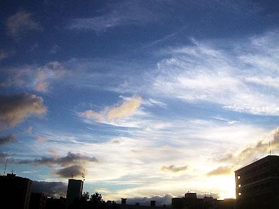 北海道 空 写真