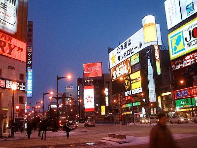 札幌|すすきの|写真