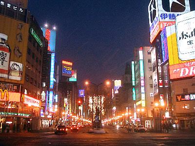 札幌 すすきの 写真
