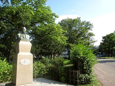 北海道大学|クラーク像|写真
