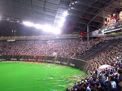 日本ハムファイターズ日本一|札幌ドーム