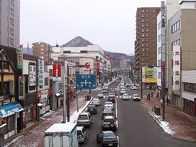 琴似栄町通 写真