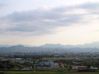 札幌|モエレ沼公園|札幌都心遠景