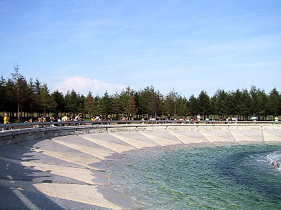 札幌 モエレ沼公園 海の噴水 写真