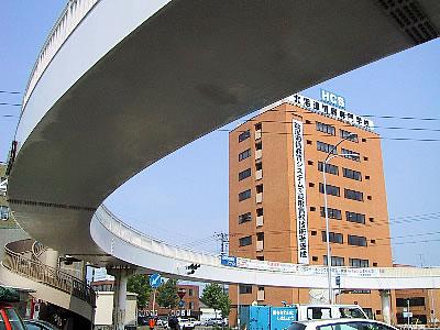 札幌|菊水円形歩道橋|写真