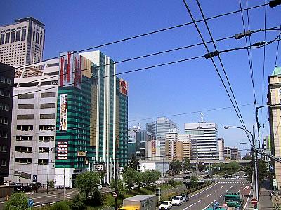 札幌|創成川通北3条|写真