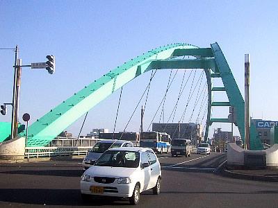 札幌|豊平川|水穂大橋|写真