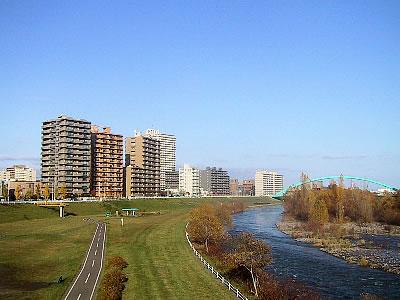 札幌|豊平川|写真