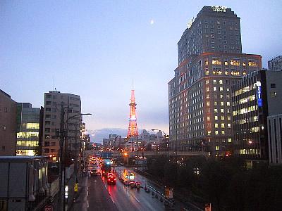 札幌 創成川通 写真