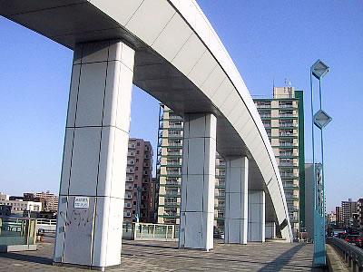 豊平川|幌平橋|写真