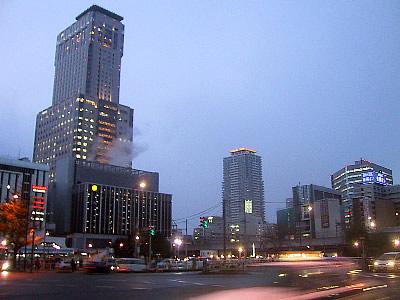 札幌|JRタワー|夕景