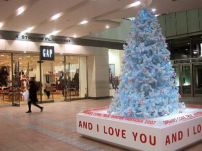 札幌駅|クリスマスツリー|写真