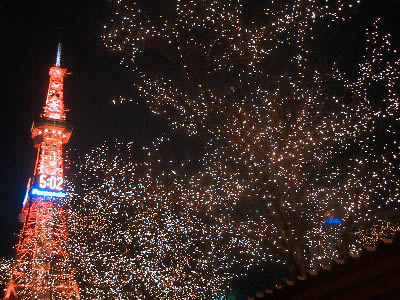 札幌|ホワイトイルミネーション|写真