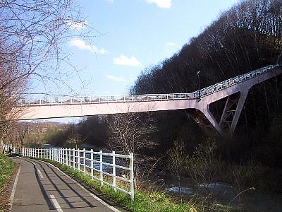札幌|真駒内グリーンハイツ歩道橋|写真