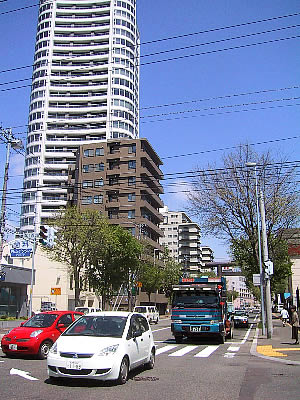 札幌|シティタワー円山神宮鳥居前|写真