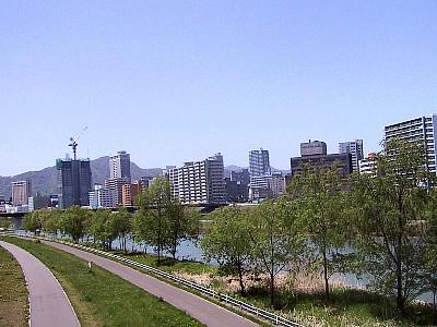 札幌|豊平川|豊平橋
