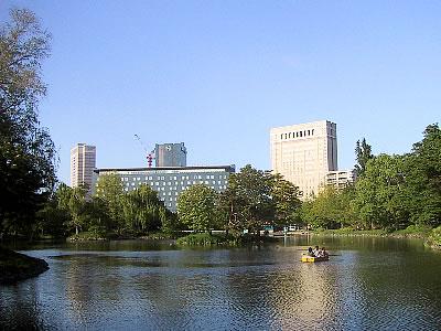 札幌|中島公園|菖蒲池|写真