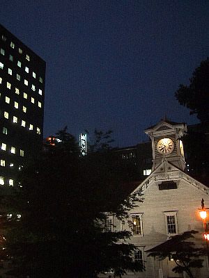 札幌|時計台|キャンドルナイト|写真