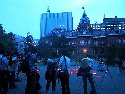 札幌|キャンドルナイト|旧道庁(赤レンガ)|写真
