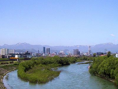 札幌|豊平川|北十三条大橋