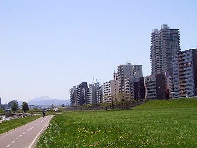 札幌|豊平川河川敷|写真