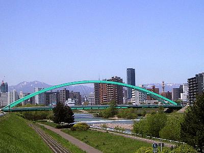 札幌|豊平川|水穂大橋