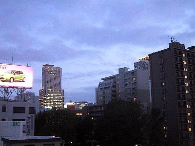 写真|札幌駅方面遠景