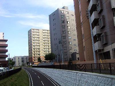 札幌 白石サイクリングロード