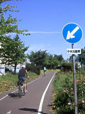 07-7-8札幌|白石サイクリングロード
