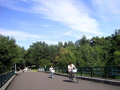真駒内公園|緑橋