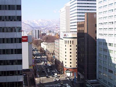 北海道 札幌 街並み 写真