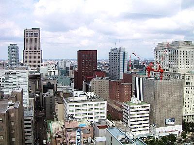 札幌市役所屋上展望回廊|写真