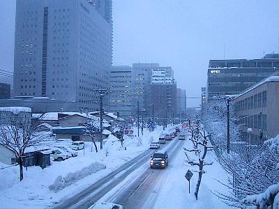 札幌 街並み 写真