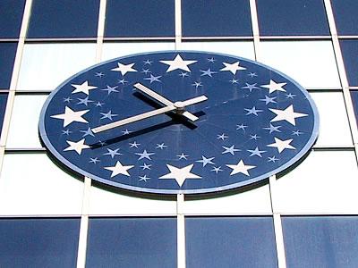 札幌駅|ステラプレイス|星の大時計|写真