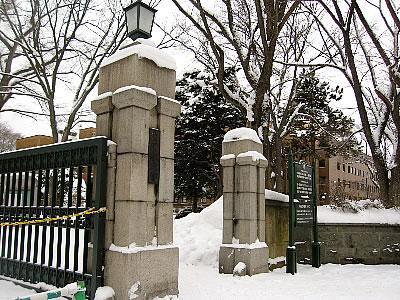 北海道大学正門 写真