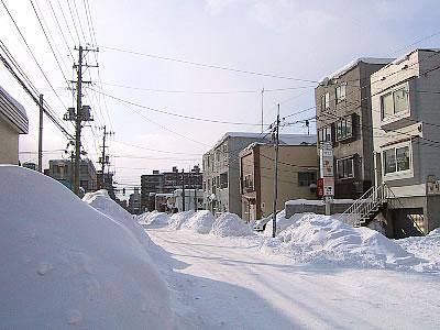 札幌|雪道|写真