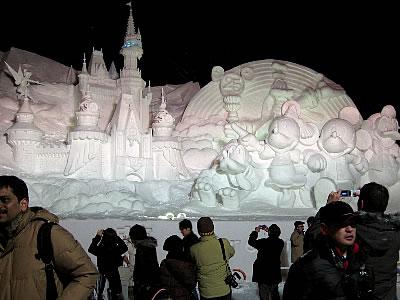 第60回さっぽろ雪まつり(2009年2月)