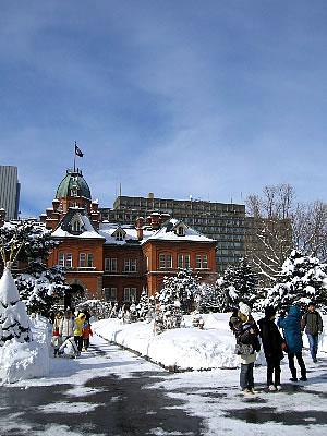 札幌 旧道庁 写真