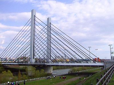 札幌 豊平川 ミュンヘン大橋