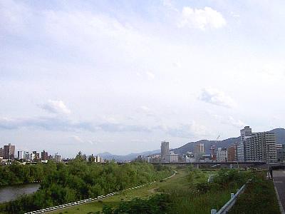 豊平川 豊平橋 写真